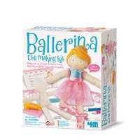 Ballerina Doll Making Kit - 4M