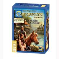 Carcassonne : Posadas y Catedrales Expansion - Devir