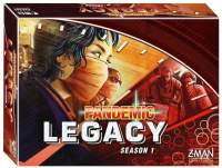 Juego Pandemic Legacy Red Edition - Z-man Games