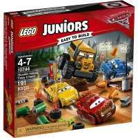 Lego juniors 10744 Cars 3 : Carrera Crazy 8 en Thunder Hollow
