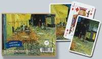 Set doble cartas Van Gogh - Piatnik