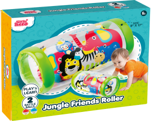 Cilindro Inflable: jungla -little Hero