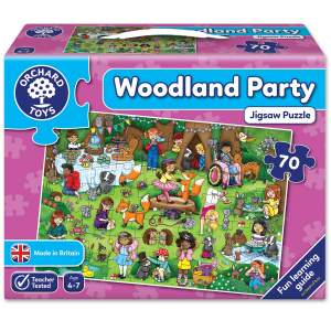juego rompecabezas Woodland Party -Orchard